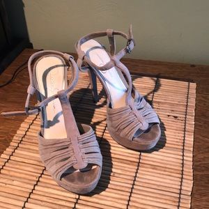 Jessica Simpson Shoes - Like new Jessica Simpson  taupe heels